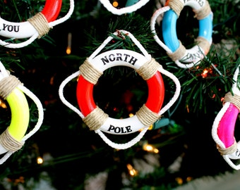 North Pole, North Pole Ornaments, MiniLifeRings,