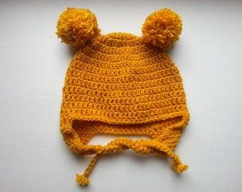Adult Pom Pom Hat