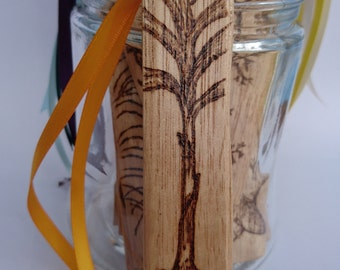 Wood Bookmark, Ginger