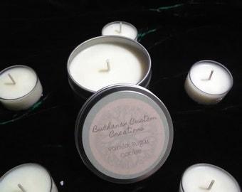 Vanilla Sugar Cookie 6 oz tin candle
