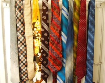 Vintage Classic Men's Ties, Fashion Accessories