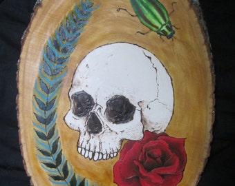 Skull Wood Burning