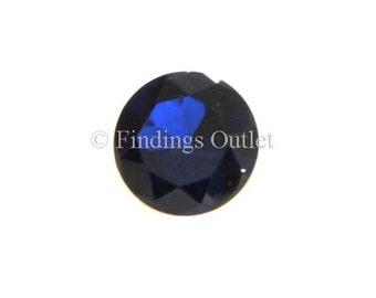Loose Round Cut Sapphire 8mm CZ Stone