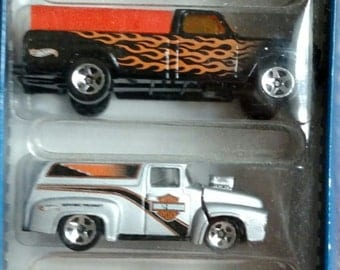 NEW Hot Wheels Harley-Davidson Five Pack