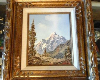 vintage oil painting by Peter Heller