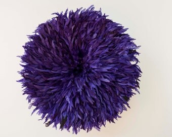 Juju Hat (Large - 33in) - Authentic - Wall decor feather headdress - PURPLE
