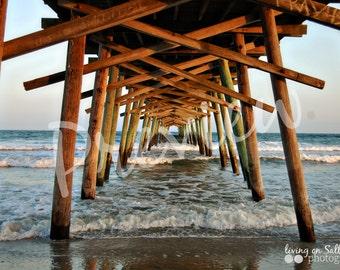 Bogue Inlet Pier – Emerald Isle, North Carolina – Sunset – Photography – Multiple Sizes