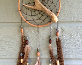 Deer Antler Dream Catcher
