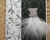 Ballerina Dress Card WG1