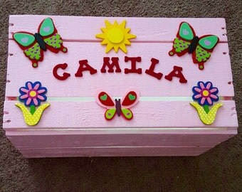 Personalized Baby Toy Box