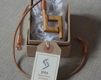 Runic style pendant - Jera