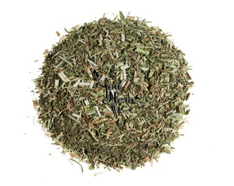 Hyssop Dried Leaves & Stems Loose Herb Herbal Tea - Buy Any 2x50g Get 1x50g Free!