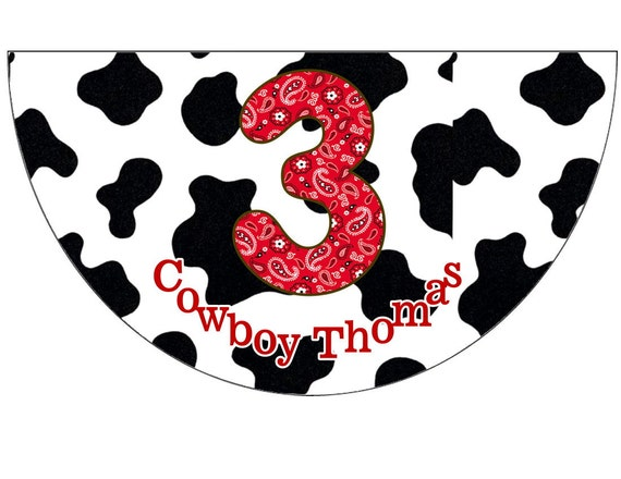 Cowboy Way Birthday Polka Dot Birthday Party Hats