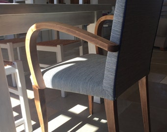 A pair of armchairs bridges