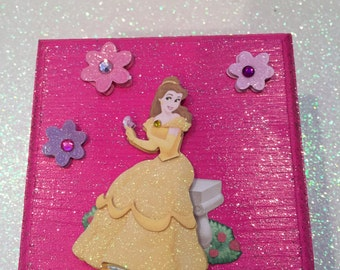 Belle from Beauty and the Beast Jewelry Box; Princess Jewelry Box