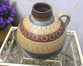 Vintage german ceramic vase by KMK nice decor