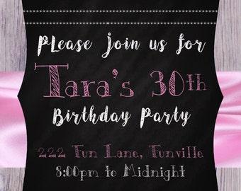 Birthday Party Invitation