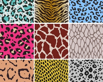Animal skin swatch Papers