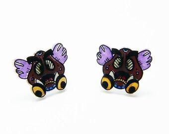 Earrings ear/chips: Goomba Goomba!