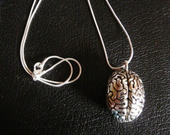 Anatomical Brain Necklace