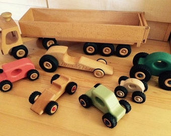 Wooden vehicles by charge