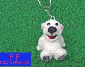Polar bear, FROST bear keychain