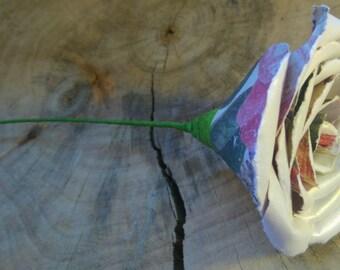 Pearl paper flower