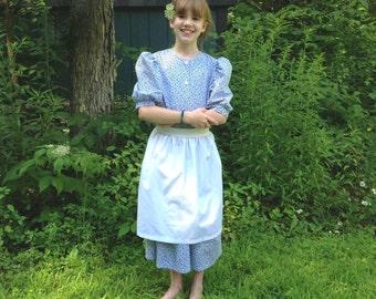 Custom Girl's Frontier Dress Set