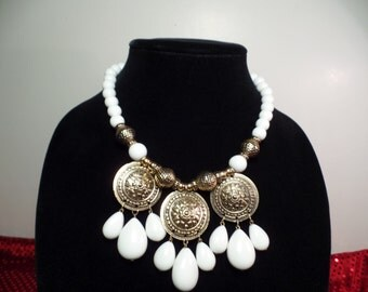 Fun Statement Necklace Made in Italy-1970's