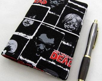 TWD FABdori, Fabric Travlers Notebook - Fieldnotes Size; Fauxdori: Midori Style Notebook- Scratch and Dent