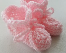 Crochet Pattern - Crochet Baby Booties Pattern - Baby Slippers Pattern - PDF Format