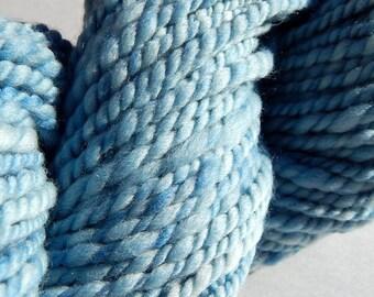 Indigo I-Handspun Wool Yarn