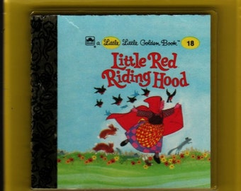 Little Red Riding Hood / Tawny Scrawny Lion Little Little Golden Books in Package - 1989 - Vintage Book