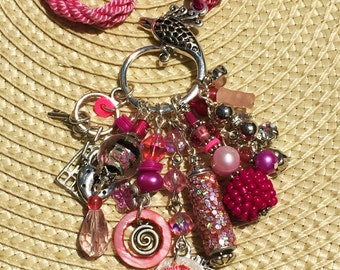 Rose Allure Chunky Charm Necklace