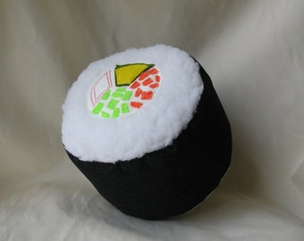 California Roll Plush Handcrafted in the USA