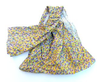 XL Baby Doll Ring Sling - Doll Sling - Toy Carrier - Pouch Doll Sling - Babywearing - Baby Doll Sling - Doll Carrier – Purple  Floral