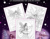 Fairies and Fantasy Coloring Book - Molly Harrison - For Adults and Older Kids - Fairies, fairy, faery, fantasy art