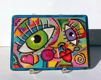 Face Time wall plaque 1