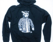 Hoodie - Vato Gato (UNISEX) originally from a Painting by Ray Young Chu
