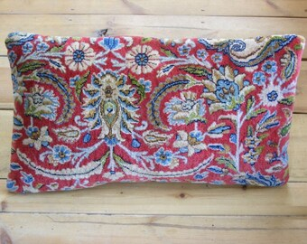 Persian rug pillow cushion Kirman