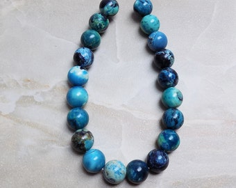 Blue Turquoise Jasper beads