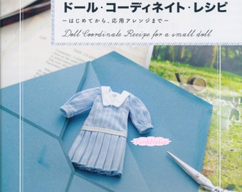 Doll Coordination Recipe Japanese Craft Book