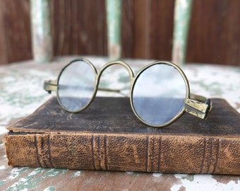 Antique Regency Period Round Spectacles