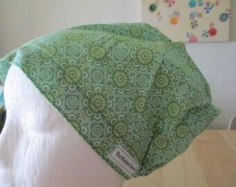 Bella Hattie Style in Green..............Surgical Hat....Bakers Hat