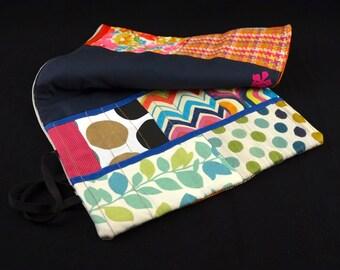 Needle Case, 14 Crochet/Knitting Needles and 2 Circular Needles