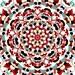 Mandala Art, Boho Art, Abstract Art Print, Meditation Art, Boho Print, Large Abstract Art, Spiritual Art, Large Art Print, Red Art Print