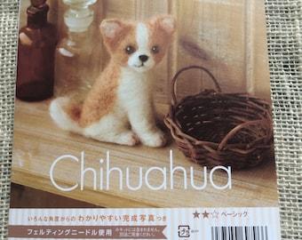 Chihuahua Felting Kit from Hamanaka   Co. - one new kit