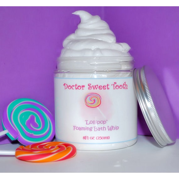 Foaming Bath Whip 8oz (Pick Any Scent)