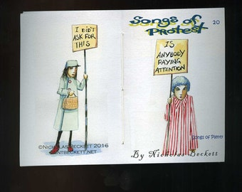 Songs Of Protest 20 - Songs of Plenty - More of the same angry protsters