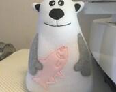 Polar Bear Softie